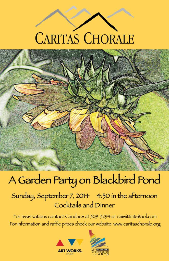 CC-Garden Party Poster