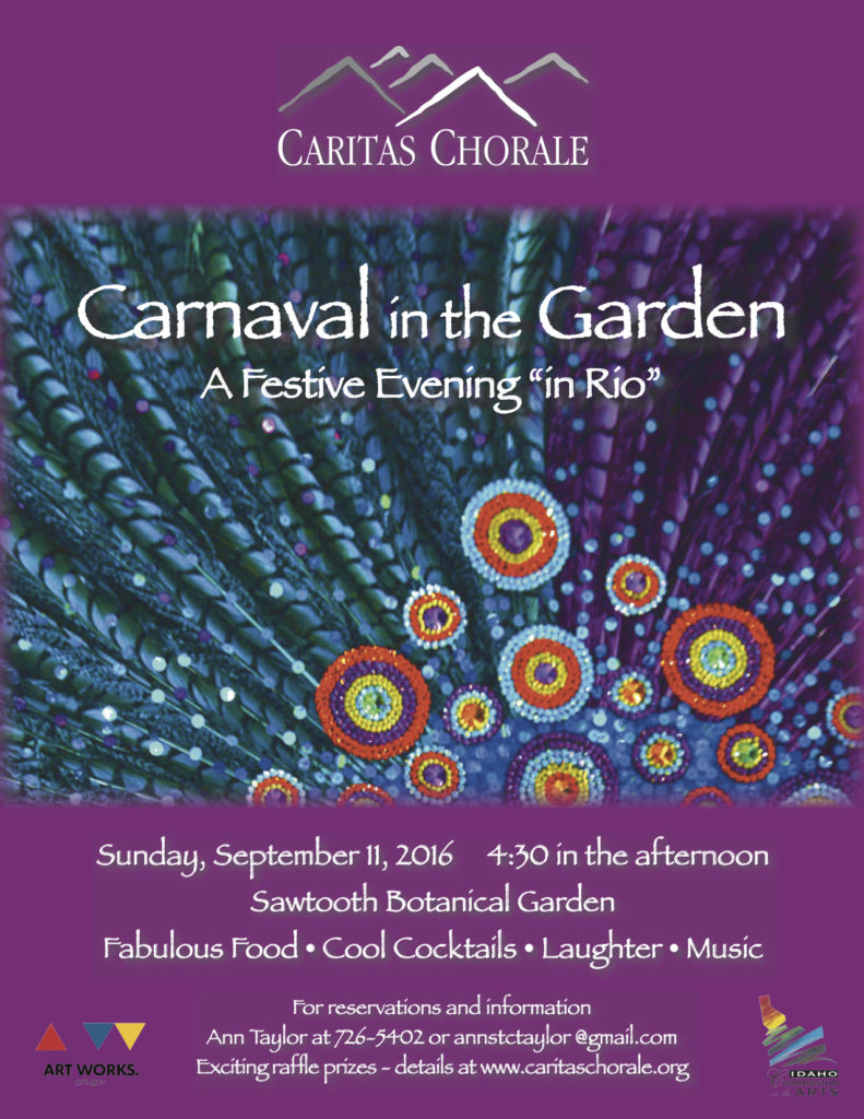 Carnaval in the Garden 2016 Party