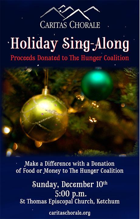 Caritas Holiday Sing-Along 2017