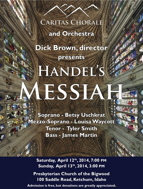 Messiah Poster 2014