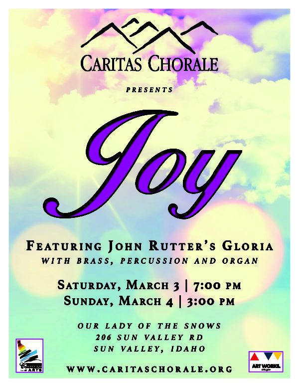 Joy Concert Poster
