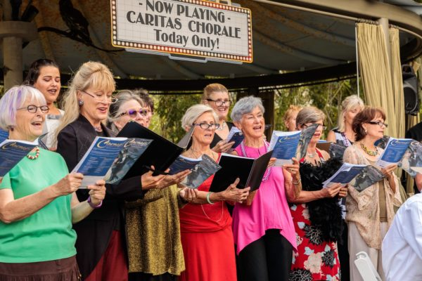 Caritas Chorale 2017 Fund Raiser at Botanical Garden